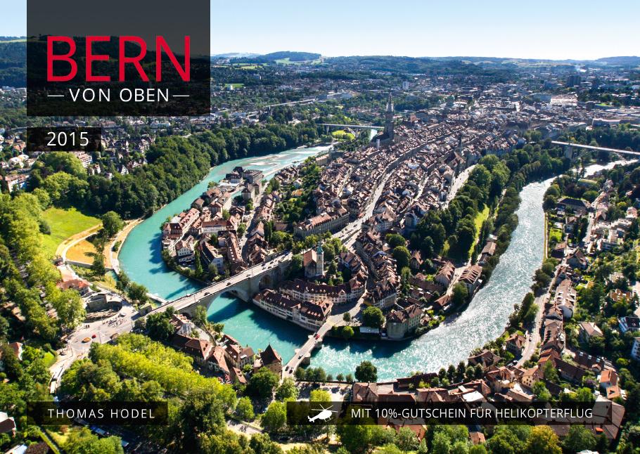 Titelbild Bern von oben-Kalender 2015