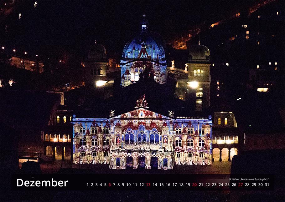 Bern von oben Kalender