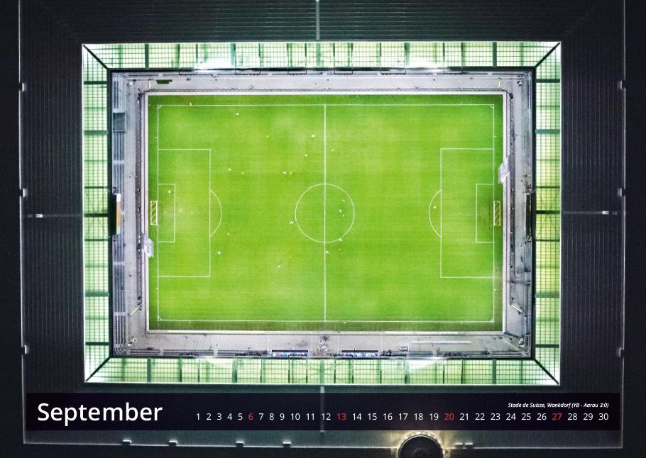 Stade de Suisse, Wankdorf | Bern von oben-Kalender