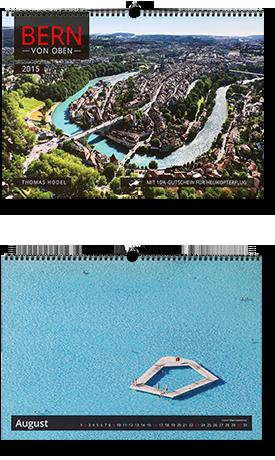 Bern von oben-Kalender