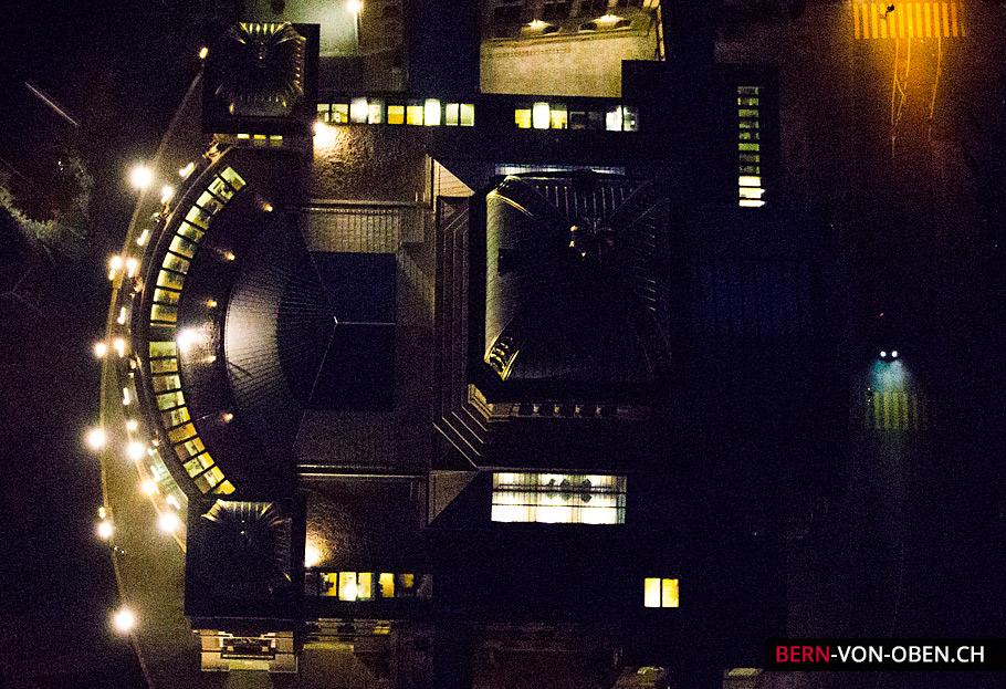 Bern von oben Nachtaufnahmen