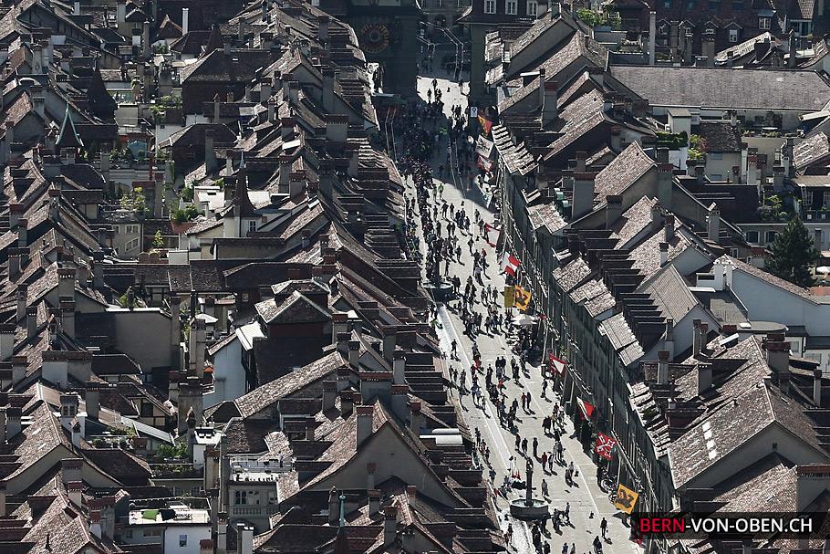 Luftaufnahme Grand-Prix Bern